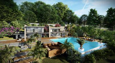 Bodrum'da köy yaşantısını lüksle buluşturan muhteşem bir villa projesi