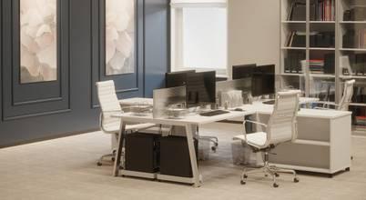 Yeni nesil bir yazılım firması için modern bir ofis tasarımı