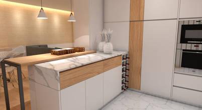 Moderno e escandinavo - um apartamento de sonho em França