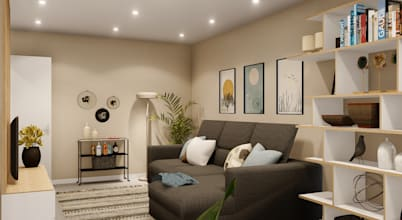 Minimalista e acolhedor - um apartamento dos nossos tempos