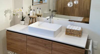 Renovação moderna de casa de banho