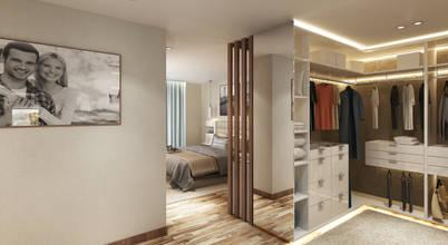 Um quarto em open space que nos inspira!