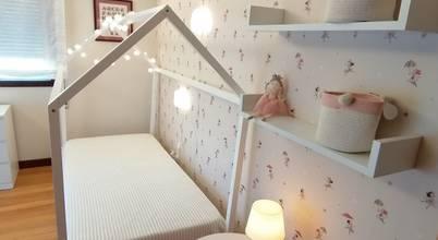 Transformação de uma antiga sala para um quarto de criança!