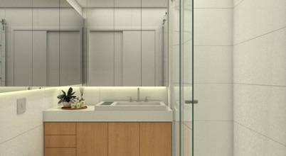 O projecto de um apartamento elegante e muito confortável!