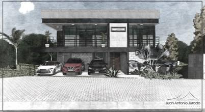 Projeto residencial de estilo industrial moderno em Santana de Parnaíba