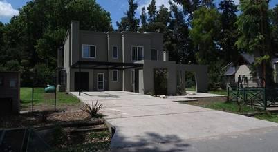 Una casa sobria y moderna