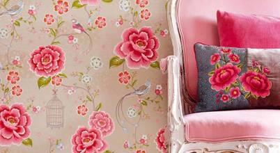 Papéis de parede com padrões florais para receber a Primavera em casa!