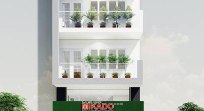 Không gian nhà phố kết hợp kinh doanh sang trọng với nội thất gỗ