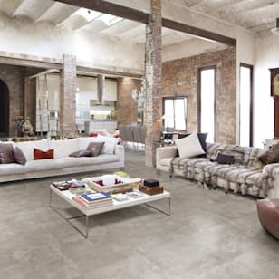 Industrial living room photos by berliner fliesenmarkt i homify