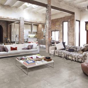 Industrial living room photos by berliner fliesenmarkt