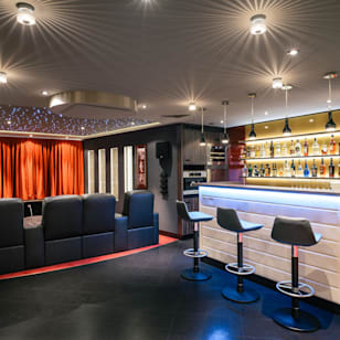 Fotos de salas multimedias de estilo clasico de raumdeuter gbr