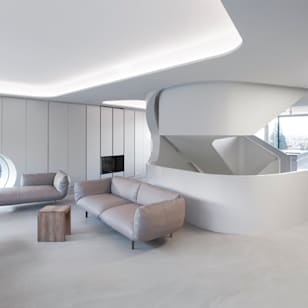 Modern living room photos by j mayer h
