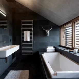Foto di bagno in stile moderno di leicht kuchen ag