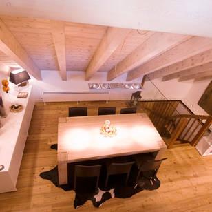 Foto di sala da pranzo in stile scandinavo di architetto beltrame claudio