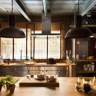 rustic Kitchen by Egue y Seta