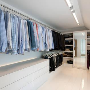 Verlichting for Moderne kleedkamer