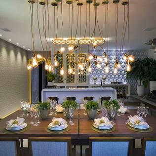 Polígono um ambiente para cada um - Ambiente CASA COR SC 2015 Salas de jantar clássicas por Spengler Decor Clássico
