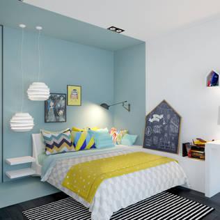 Chambre d 39 enfant id es de design d coration et photos homify - Chambre d enfant moderne ...
