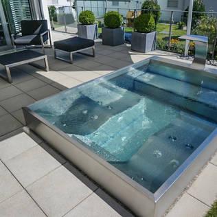 Piscinas de acero inoxidable precios affordable piscina for Piscina acero inoxidable precio