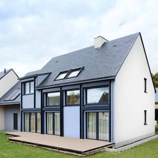 Ansprechendes Passivhaus Mit Großer Terrasse