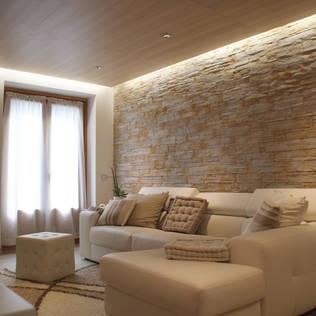 Salas modernas artigos e informa o homify for Sala de estar de mansiones