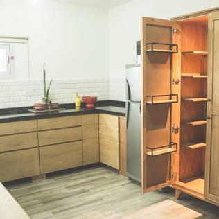 Cocinas for Muebles de madera para cocina pequena