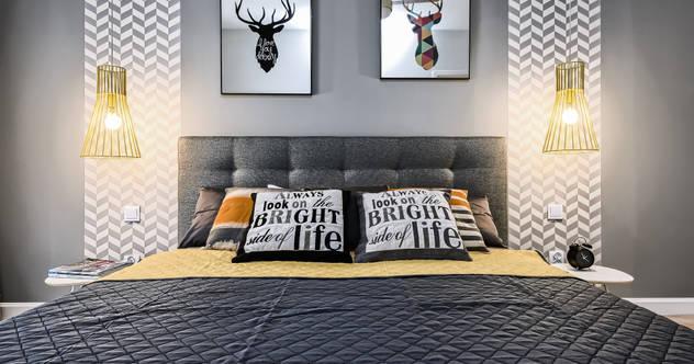 Camera da letto in stile  di Partner Design,