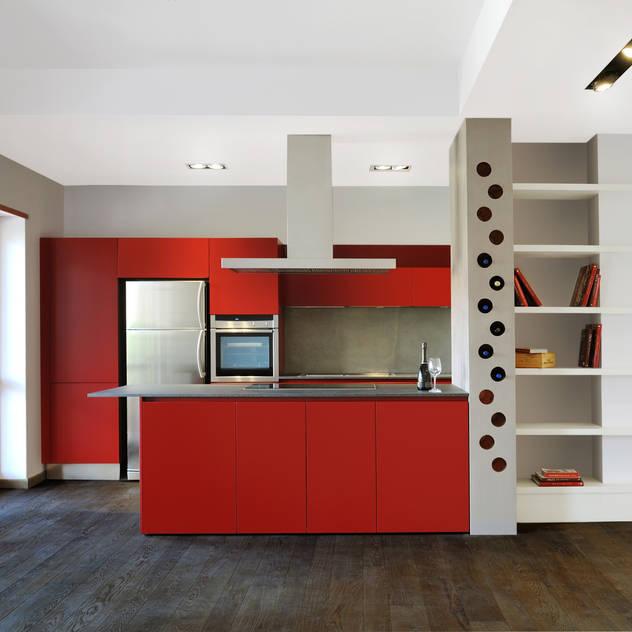 Cocinas de estilo industrial de CAFElab studio