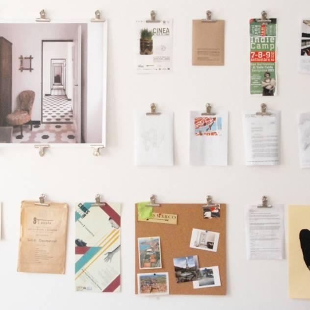 Wall Phòng học/văn phòng phong cách hiện đại bởi Grooppo.org Hiện đại