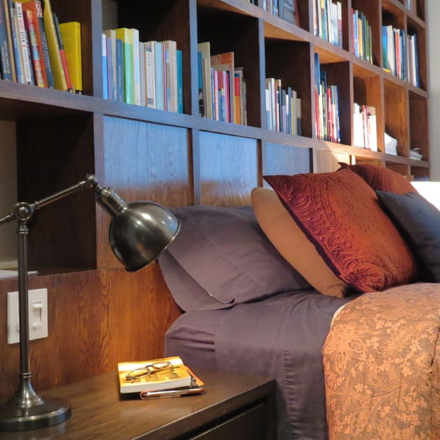 ausgefallene Schlafzimmer von NIVEL TRES ARQUITECTURA