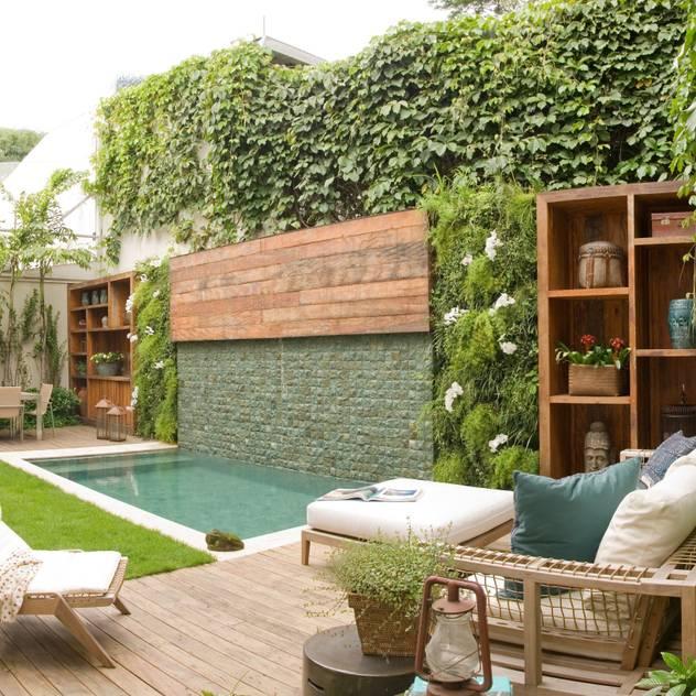 Vườn: thiết kế nội thất · bố trí · Ảnh bởi Gigi Botelho Paisagismo