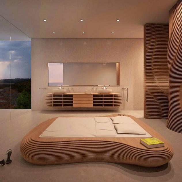 form.bar: modern tarz Yatak Odası