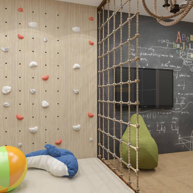 Phòng trẻ em phong cách tối giản bởi PlatFORM Tối giản