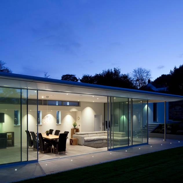 Livings de estilo moderno por JAMIE FALLA ARCHITECTURE