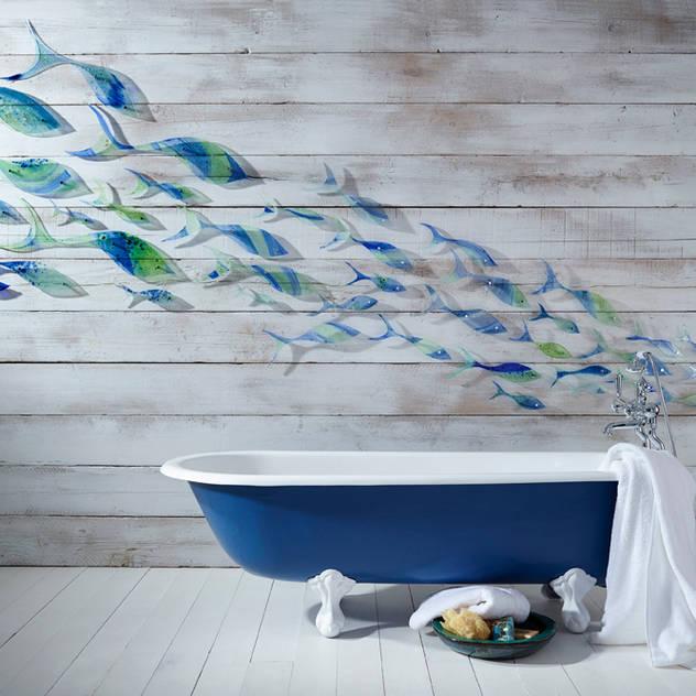 Bathroom by Jo Downs