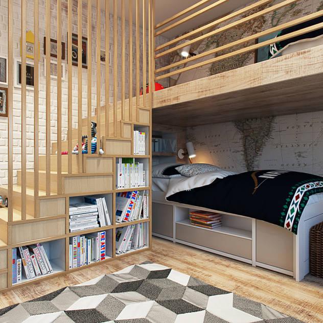 10 bước tuyệt vời để bạn làm phòng ngủ cho bé không gian