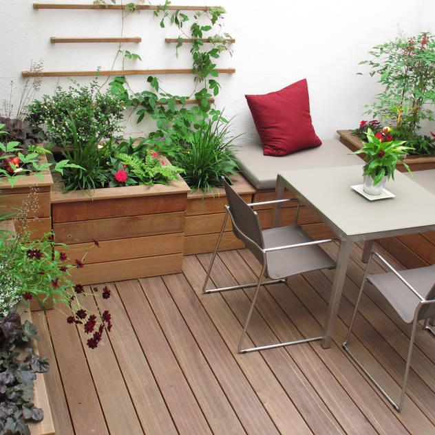 Marylebone Courtyard: modern Garden by Fenton Roberts Garden Design