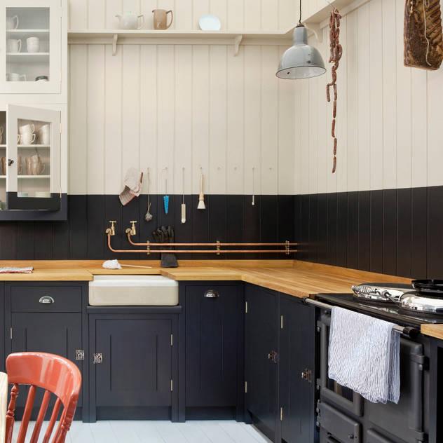 The Original British Standard Kitchen 根據 British Standard by Plain English 鄉村風 木頭 Wood effect