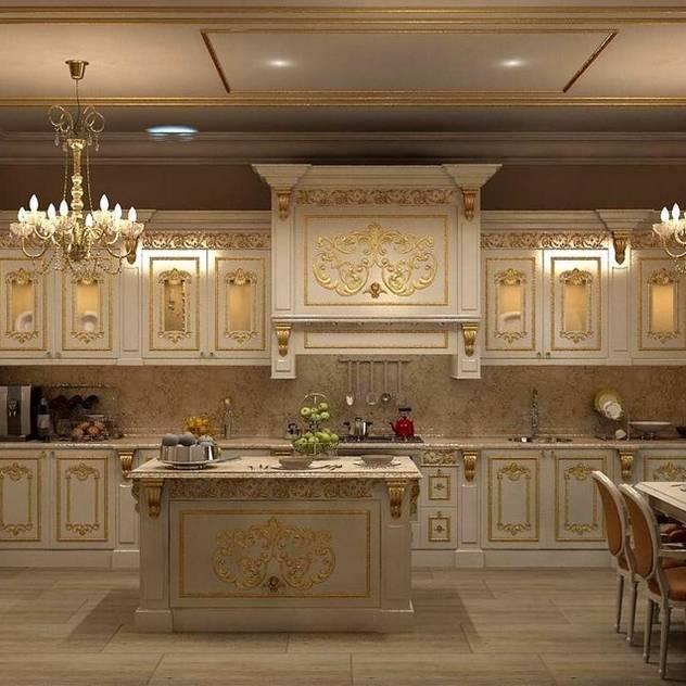 Cucina in stile classico di Asortie Mobilya Dekorasyon Aş. Classico
