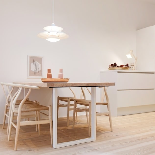 Phòng ăn phong cách Bắc Âu bởi pur natur Bắc Âu