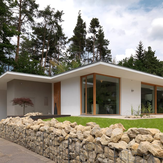 บ้านและที่อยู่อาศัย by Bermüller + Hauner Architekturwerkstatt