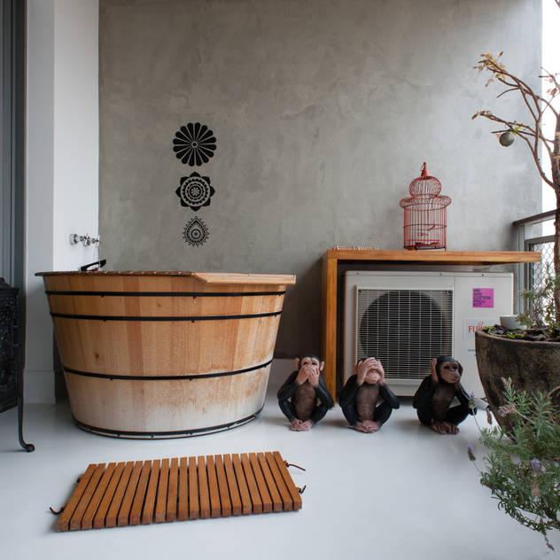 Aimbere: Terraços por PM Arquitetura