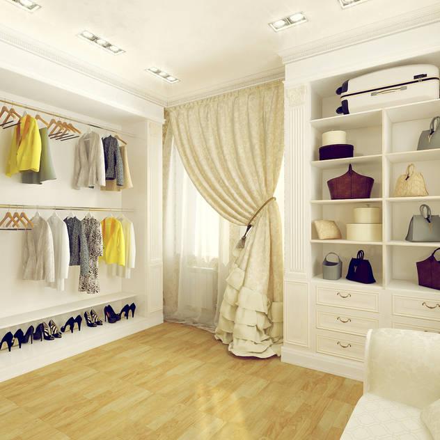 Phòng thay đồ phong cách kinh điển bởi Tutto design Kinh điển