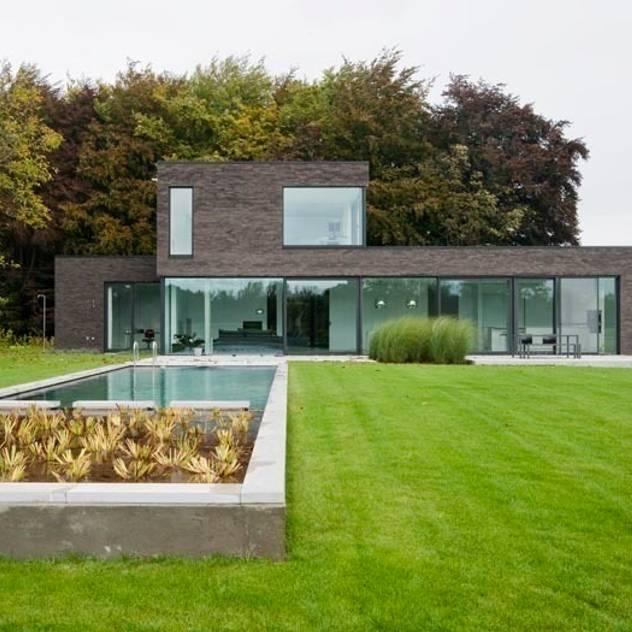 Casas modernas por hasa architecten bvba