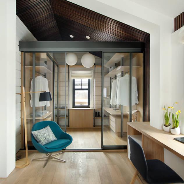 Phòng thay đồ phong cách Bắc Âu bởi ZE|Workroom studio Bắc Âu