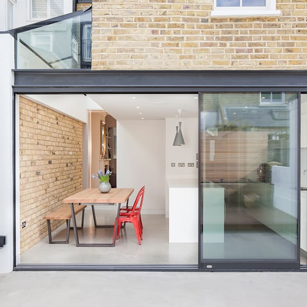 inside/outside TAS Architects Minimal style window and door