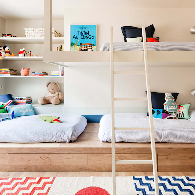 ห้องนอนเด็ก by A! Emotional living & work