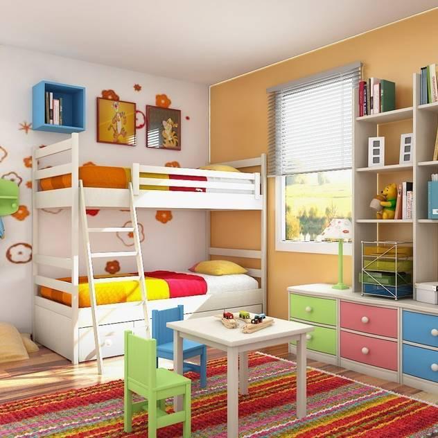10 bước tuyệt vời để bạn làm phòng ngủ cho bé giường tầng