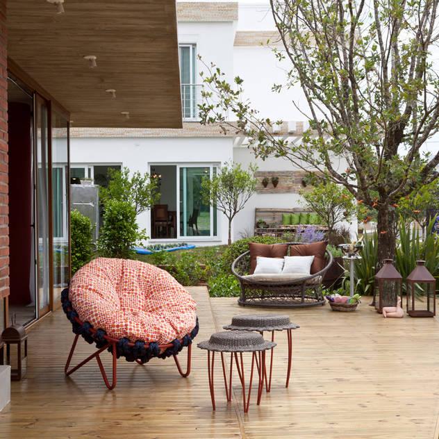 Casa Marítimo - Seferin Arquitetura: Terraços  por Seferin Arquitetura