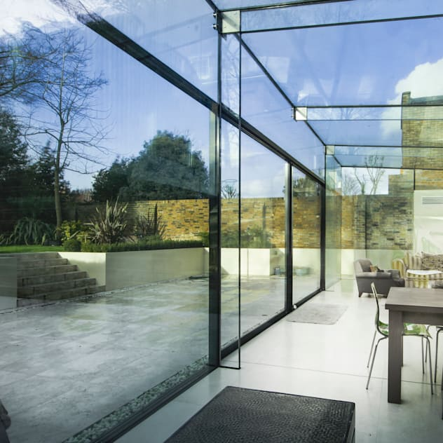 Barnes, London: Culmax Glass Box Extension: Windows by Maxlight